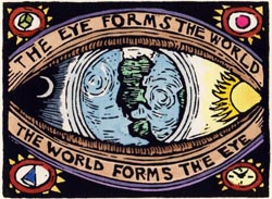 The Eye Forms the World, the World Forms the Eye