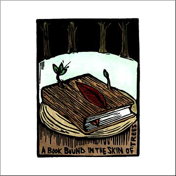 """A Book Bound In The Skin Of Trees"""