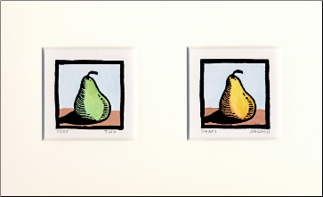 """Two Pears"""